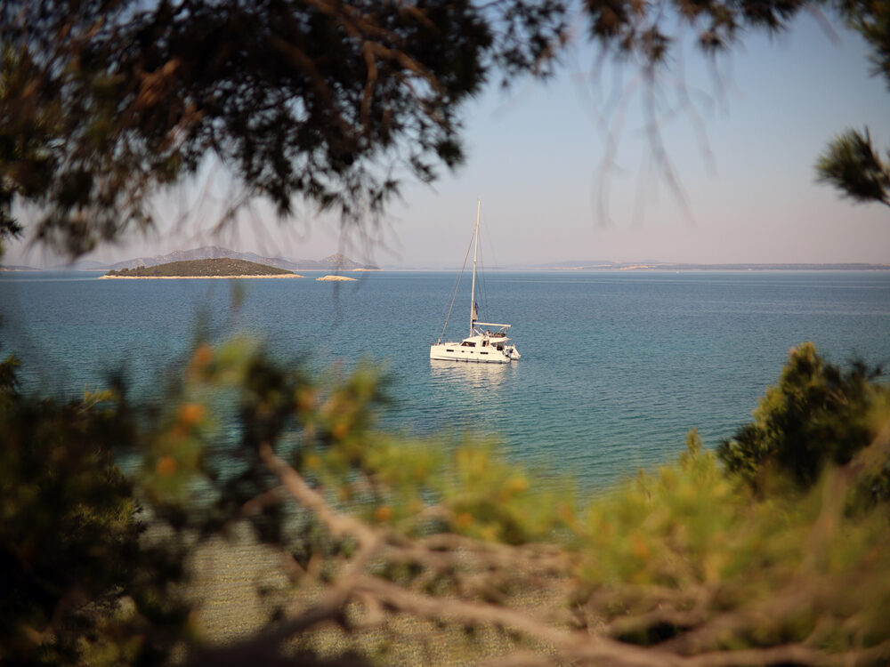 sailing vacation trip croatia