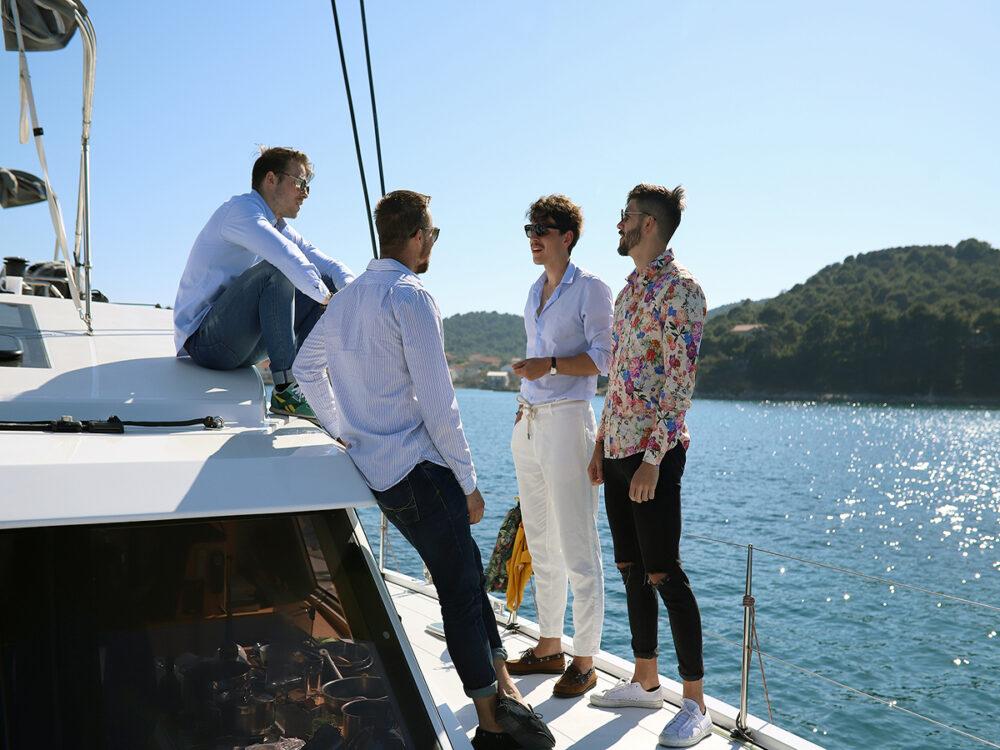 vacation sailing croatia meetings